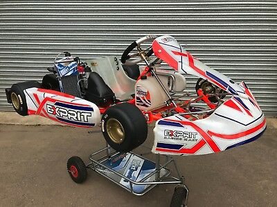 2017 Exprit TonyKart 401s With Rotax Max Evo Engine 125cc .