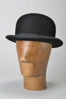 British Officers' 1960s' Boxed s6 7/8 H Johnson Bowler Hat. Ref GTE