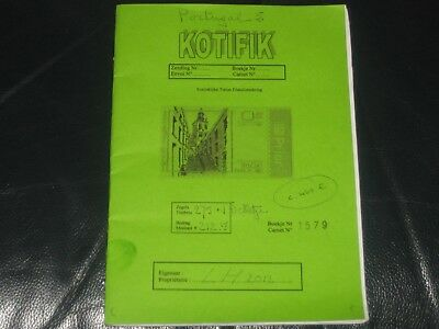 portugal stamps in small album / hand book ( b )