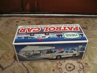 Hess Toy Trucks and Vehicles 1993 Patrol Car in Box NEW