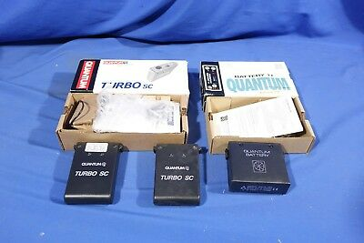 LOT of Assorted Quantum Batteries #L4136BP AS-IS
