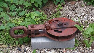 Wire Rope Block Pulley wire dia sheve winch recovery gin wheel YAYLOR PALLISTER