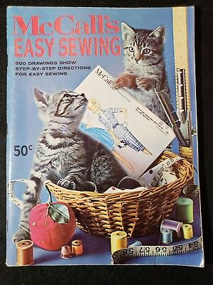 Vintage McCall's Easy Sewing Book 1964 (soft cover)