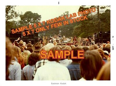 Grateful Dead 1974-75 Lot Of 4 Ko-Dak Photos Hi Qual Pro Lab 1 Time Offer On Set