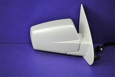 04-06 Cadillac SRX Power Door Side Mirror opt DR2 Etched Passenger Right White