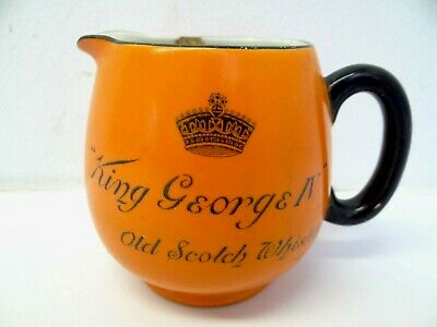 Old Distillers Agency Limited Edenborough Scotch Whiskey Spouted Mug George IV