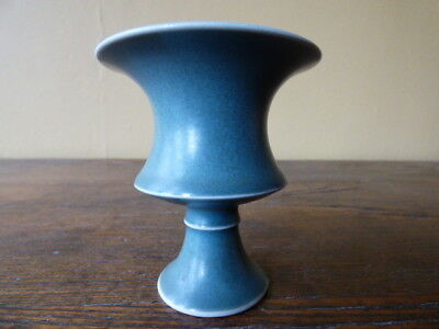 Chinese Celadon Stem Cup with 6 Character Mark to Base
