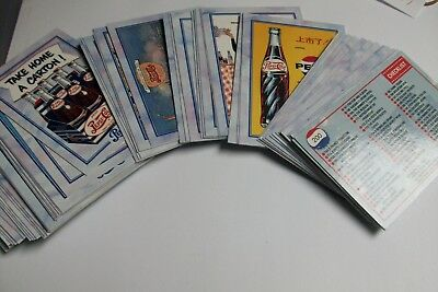 Lot Cartes Pepsi-Cola The Collector's Series Ii