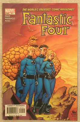 FANTASTIC FOUR #511 by Mark Waid and Mike Wieringo - MARVEL COMICS