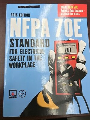 NEC NFPA 70E Electrical Safety Code Book - Softcover - 2015 Ed