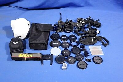 LOT of Assorted Nikon Camera Accessories #L4140BP AS-IS