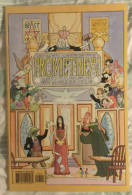 PROMETHEA #25 by Alan Moore & JH Williams III - WILDSTORM/AMERICA'S BEST COMICS