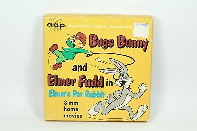 "8 mm Home Movies ""Bugs Bunny & Elmer Fudd in Elmer's Pet Rabbit"""