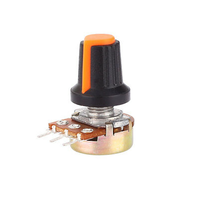 10K OHM Linear Taper Rotary Rotating Audio Potentiometer Electronic Components