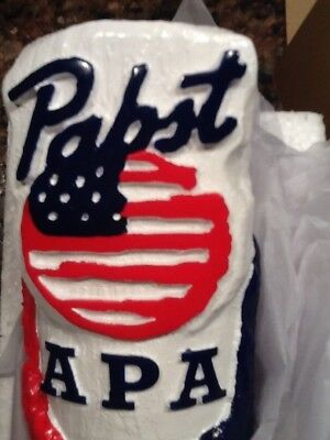 Pabst Blue Ribbon art tap handle the latest in the series  American Pale Ale