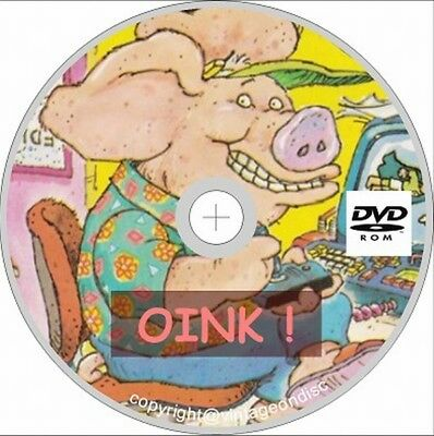 Oink! Comics 68 issues & 5 Specials on Dvd Rom