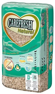 Carefresh Natural Small Animal Compressed Bedding  Expands to 14 litre