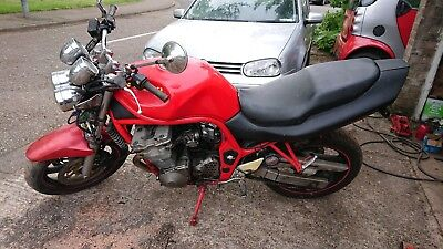 Project bike with another for spares