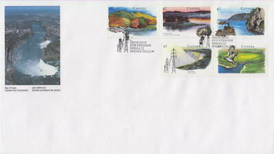 CANADA #1412a 42¢ HERITAGE RIVERS - 2 FIRST DAY COVER