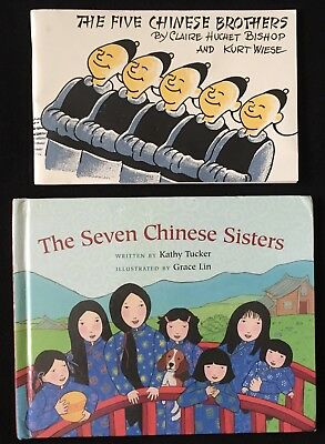 The Five Chinese Brothers PB + Seven Chinese Sisters HB/Claire Bishop/Kurt Wiese