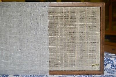 Dynaco A25 Linen Grille Cloth. Dynaco, KLH speaker Also AR (acoustic research)