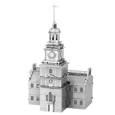 Fascinations Metal Earth Independence Hall 3D Laser Cut Steel Model Kit MMS157