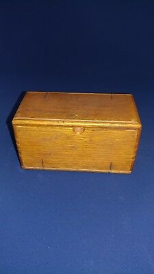 1889 Antique sewing accessory Box