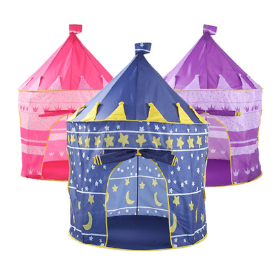 Kids Children Play Tent Princess Castle Indoor Outdoor Baby Playhouse Gift Toys
