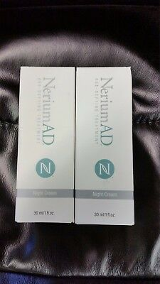 Nerium AD Age Defying Night Cream Combo Pack Qty 2 New- Factory Sealed