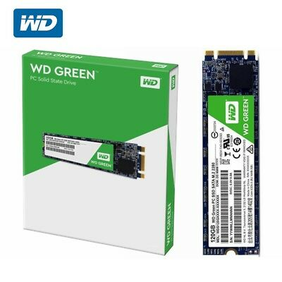 SSD M.2 120GB WD Green Western Digital Internal Solid State Drive Laptop SATAIII