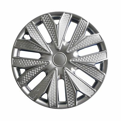 """Drive Accessories 1034 Gunmetal 15"""" ABS Plastic Aftermarket Wheel Cover"""