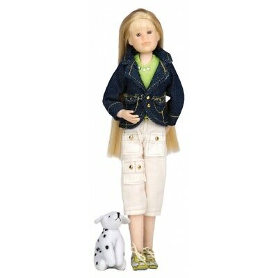 NEW Only Hearts Club Doll Karina Grace in Denim Jacket & Pants Outfit & Dog 102