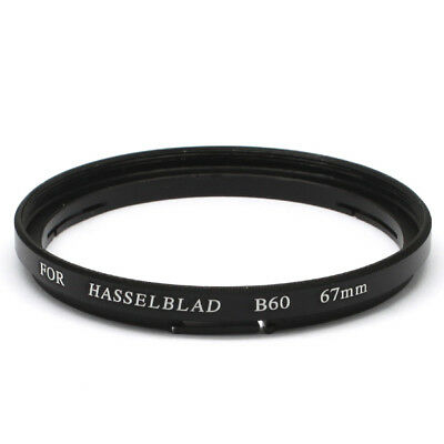 Hasselblad B60-67mm Male-Famale Step-Up Lens Filter Hood Cover Ring Adapter