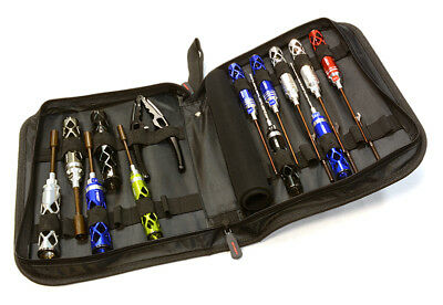 Integy 16pcs Competition Tool Set w/ Carrying Bag for 1/8 1/10 Size C26094 OZRC