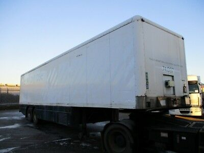 2005 Tandem Axle G&a Fridge With Underslung Fridge,priced To Sell As Need Space.