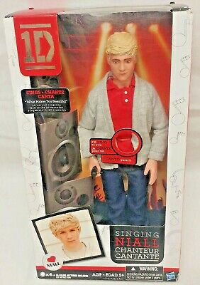 1D Singing One Direction Collector Niall Doll Hasbro