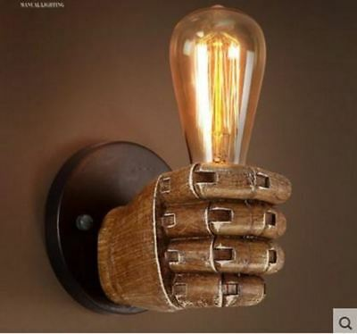 Edison Wall Sconce Retro Wall Lamp Fixtures Creative Personality Loft Industrial