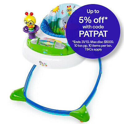 Baby Einstein Neighborhood Symphony Walker Infant/Toddler Toy Light/Music Remova
