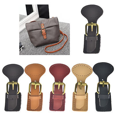 1 Set Leather Buckle Bags Making Fastener Magnetic Snap Sew on DIY Retro Clasps