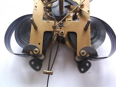 Highlands Clock Mechanism  From An Old Wall/mantle Clock  Working Order