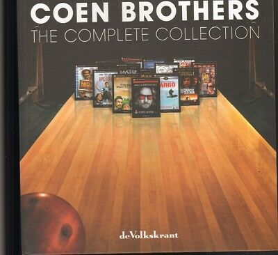 COEN BROTHERS The Complete Collection BOOK & 1 DVD The Big Lebowski