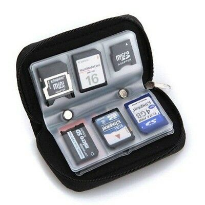 SDHC MMC CF Micro SD Carrying Pouch Case Bag Holder Memory Card Storage Wallet