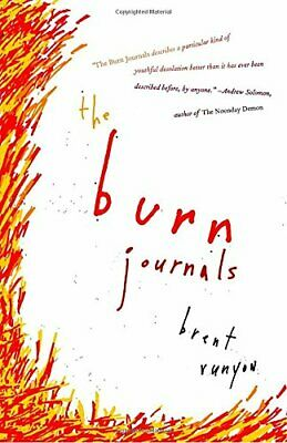 Burn Journals (Vintage) by Runyon, Brent Book The Cheap Fast Free Post