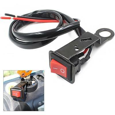 Motorcycle Waterproof On Off Button Switch Handlebar Headlight Switch DC12V-24V