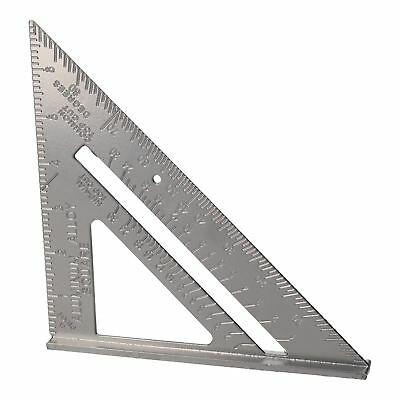 "6""  Aluminium Speed Square Measuring Rafter Roofing Triangle Joinery Guide"
