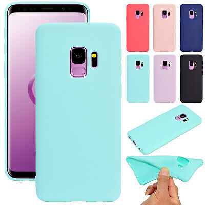 Protective Soft TPU Silicone Gel Shell Case Cover For Samsung Note 9/S9+/A8 2018