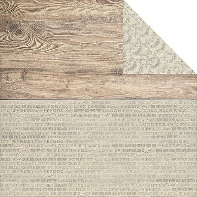 KC - 12in.x12in. - Rustic Harmony D/Sided Cardstock - Delightful