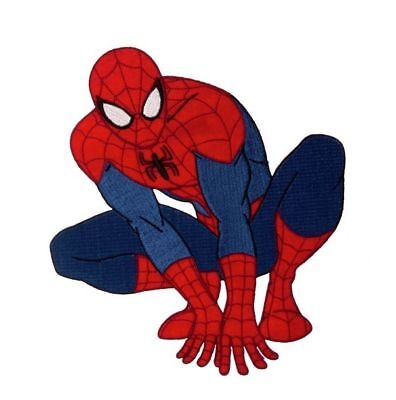 Marvel Ultimate Spiderman - Iron On Sew Patches Motif DC Comics
