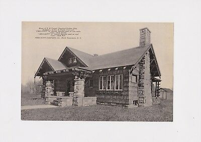 1930's Cleveland Heights Oh  Advertising Creo-Dipt Shingles E N  Conrad Home