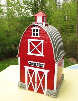 Barn Cookie Jar Plays Green Acres Theme Plastic Musical EUC tested